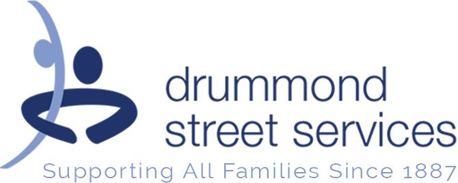 Homepage- drummond street services – Supporting All Families Since 1887 – logo