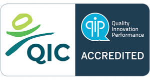 Quality Innovation Performance Accreditation logo